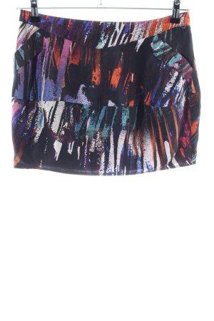 Spotlight by Warehouse Seidenrock abstraktes Muster Casual-Look