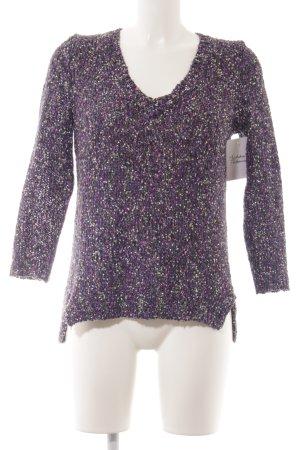 Spotlight by Warehouse V-Ausschnitt-Pullover meliert Casual-Look