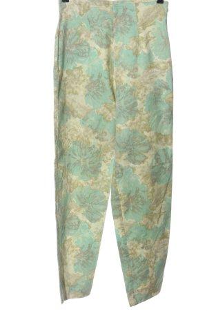 Spotlight Pantalone a vita alta stampa integrale stile casual