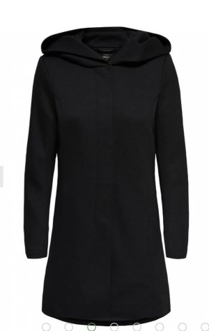 Only Hooded Coat black