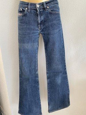 Diesel Industry Jeansowe spodnie dzwony niebieski