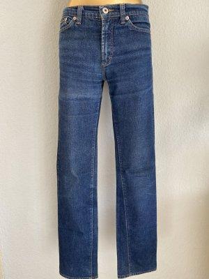 Dolce & Gabbana Jeansy z prostymi nogawkami niebieski