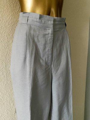 Oasis Spodnie z zakładkami jasnoniebieski-jasnoszary
