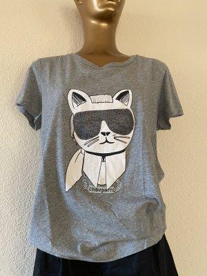 Karl Lagerfeld T-shirt argento-grigio chiaro