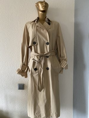 Edited Trench Coat sand brown cotton