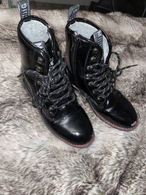 Mustang Combat Boots multicolored