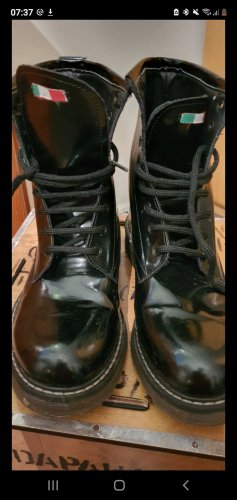 Made in Italy Combat Boots black