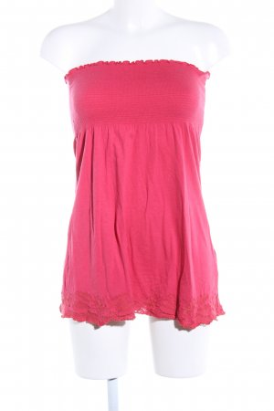Springfield Bandeau top roze casual uitstraling