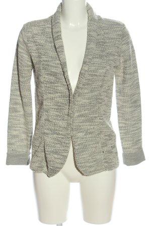 Springfield Cardigan grigio chiaro-crema puntinato stile casual