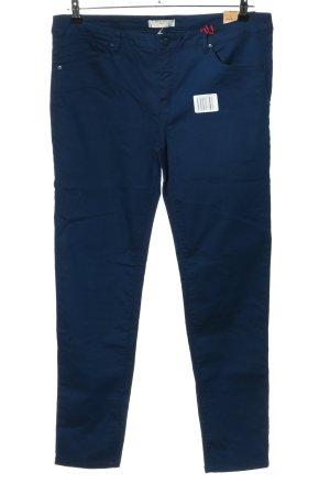 Springfield Spodnie z pięcioma kieszeniami niebieski W stylu biznesowym