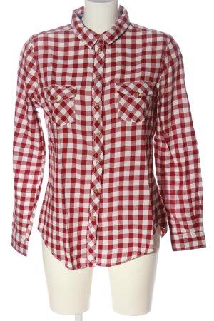 Springfield Camicia da boscaiolo rosso-bianco motivo a quadri