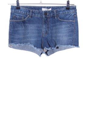Springfield Hot Pants blau Casual-Look