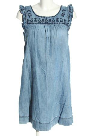 Springfield Jeanskleid blau Casual-Look