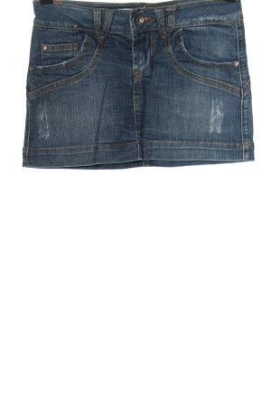 Springfield Gonna di jeans blu stile casual