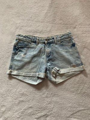 Springfield Jeansshorts L 40 blau Jeans Shorts