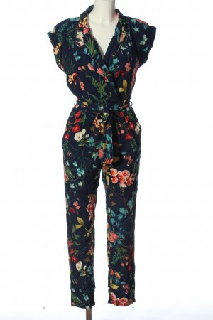 Springfield Jumpsuit Allover-Druck Casual-Look