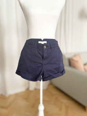 Springfield kurze Hose marineblau Baumwolle Shorts 34 XS