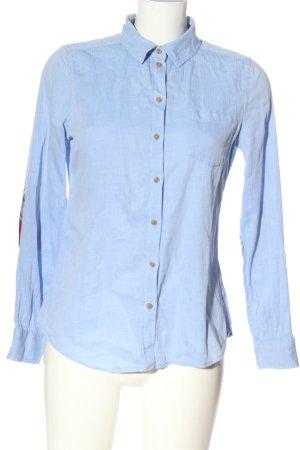Springfield Camicia a maniche lunghe blu stile professionale