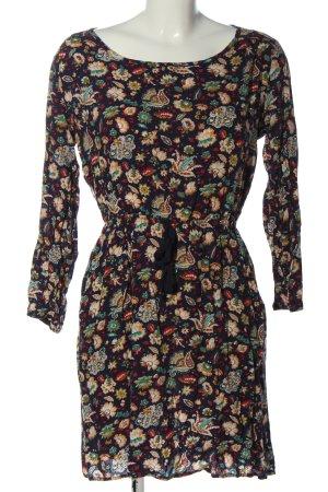 Springfield Longsleeve Dress abstract pattern casual look