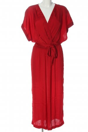 Springfield Langer Jumpsuit red casual look