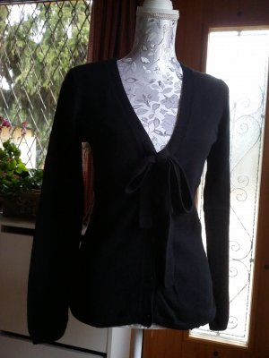 Springfield Wool Sweater black angora wool
