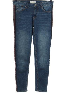 Springfield Skinny Jeans blau Street-Fashion-Look