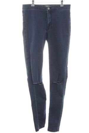 Springfield Skinny Jeans blau Casual-Look