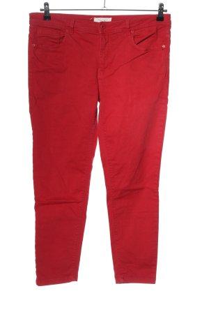 Springfield Jeans a gamba dritta rosso stile casual