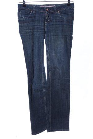 Springfield Straight-Leg Jeans blau Casual-Look
