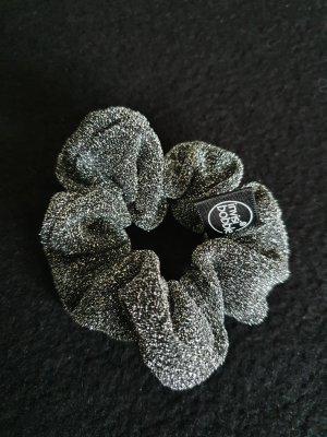 Invisibobble Ribbon black-silver-colored