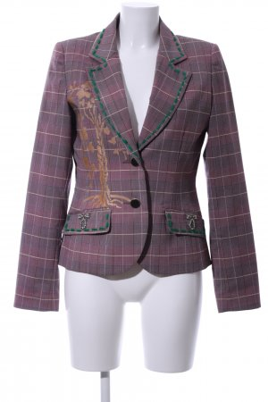 SPY exchange Kurz-Blazer Karomuster Business-Look