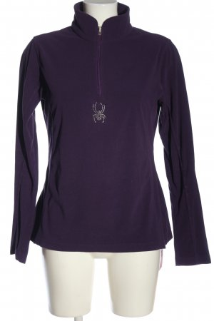 Spyder Fleece Jumper lilac casual look
