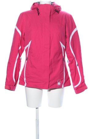 Spyder Outdoorjacke pink-weiß Casual-Look