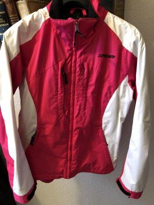 Spyder Skijacke Outdoorjacke pink Weiß