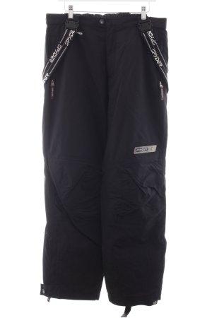 Spyder Pantalon thermique noir style athlétique