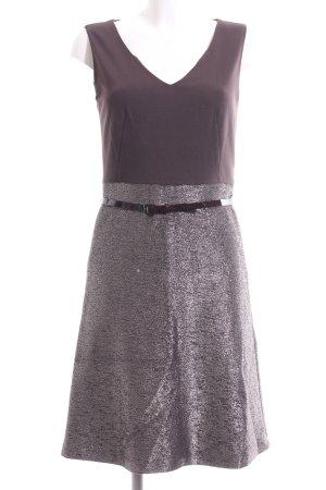 St. emile A-Linien Kleid braun-silberfarben Elegant