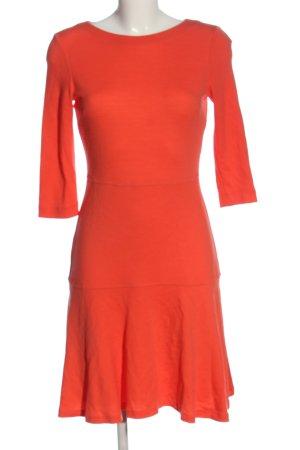 St. emile Abito linea A arancione chiaro stile casual