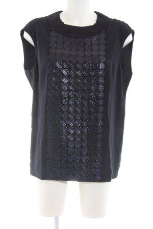 St. emile ärmellose Bluse schwarz Casual-Look