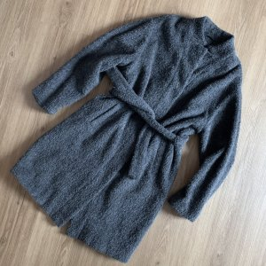 St. emile Cappotto in lana grigio scuro-grigio Lana d'alpaca