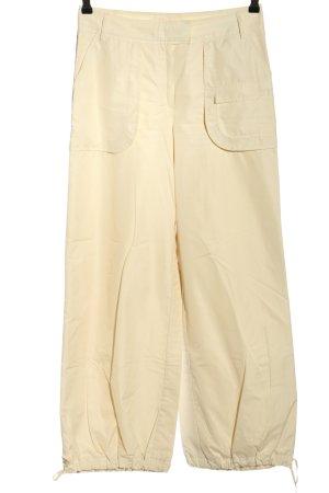 St. emile Pantalon «Baggy» blanc cassé style décontracté