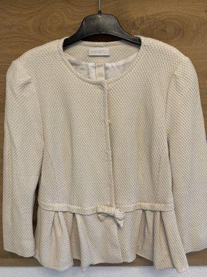 St. emile Blazer corto bianco sporco-beige chiaro