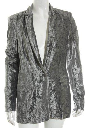 St. emile Blazer gris-gris claro elegante