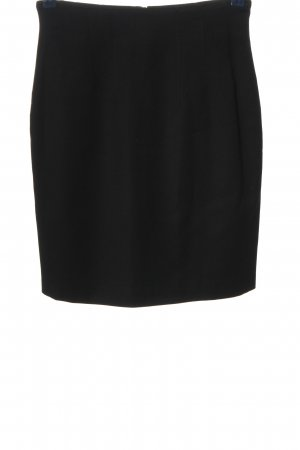 St. emile Falda de tubo negro estilo «business»