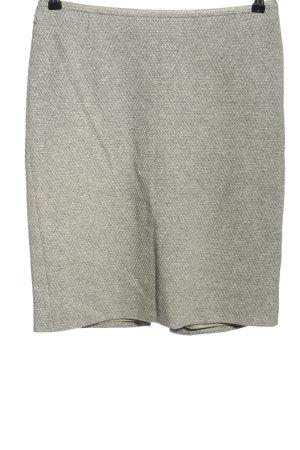 St. emile Gonna a tubino grigio chiaro puntinato stile casual