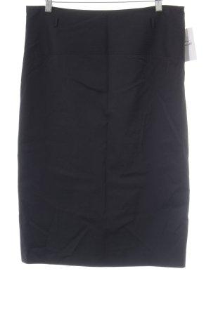 St. emile Bleistiftrock schwarz Streifenmuster Business-Look
