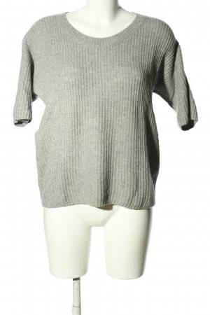 St. emile Cashmerepullover hellgrau meliert Casual-Look