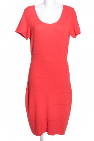 St. emile Vestido ceñido de tubo rojo tejido mezclado