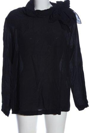 St. emile Hemd-Bluse schwarz Elegant