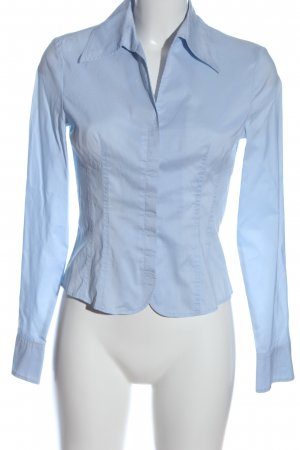 St. emile Blusa-camisa azul estilo «business»