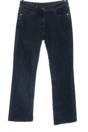 St. emile Jeans a vita alta blu stile casual